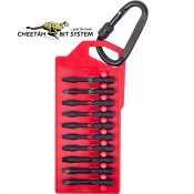 Cheetah Quick Release Impact Screwdriver Bits SQ/PH/TX 10pc.