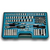 Signet 90pc SAE/MET 1/4 & 3/8 Socket Set (12890)