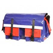 All Weather Vinyl (Medium) Red/Blue Tool Bag